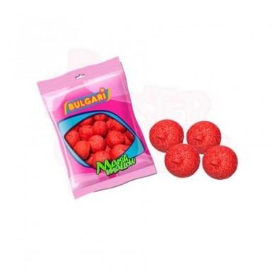 Esponjas bulgari bolas rojas 100 unidades.