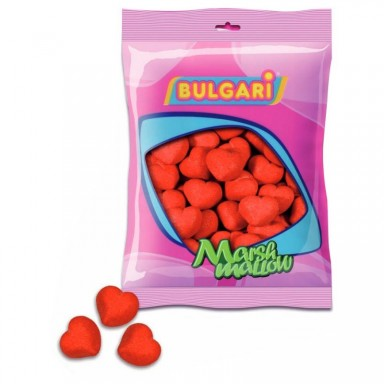 Esponjas bulgari corazones 100 unidades.