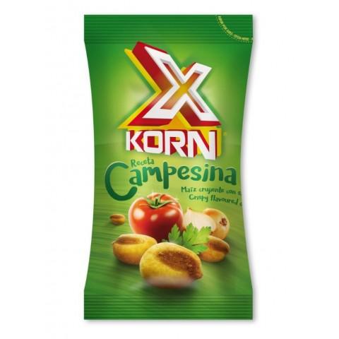 X Korn Campesina XL kikos maiz estuche con 8 bolsitas de 100gr.