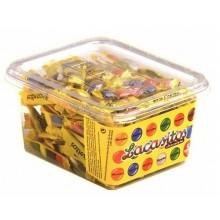 Lacasitos caja con 200 sobrecitos de 3 unidades.
