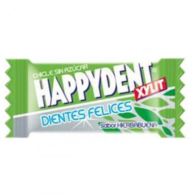 Chicles Happydent sabor Hierbabuena Sin Azúcar 200u.