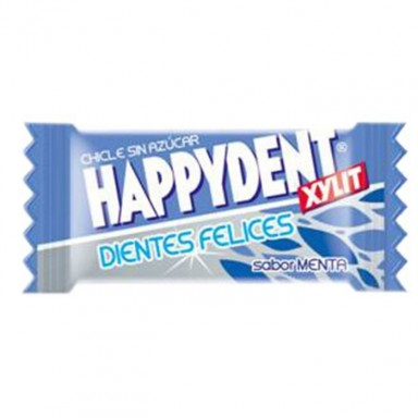 Chicles Happydent sabor Menta Sin Azúcar 200u.