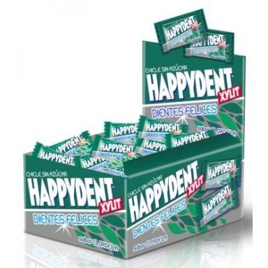 Chicles Happydent sabor Clorofila Sin Azúcar 200u.