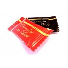 Chocolatina Napolitana para Café surtidas 1Kg. 300 u. aprox.