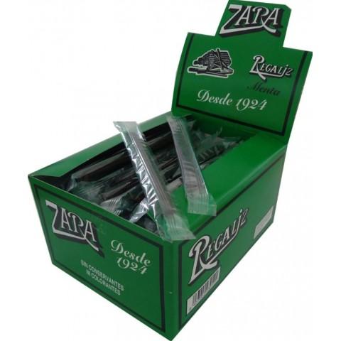Regaliz Zara mentolada 100 unidades.