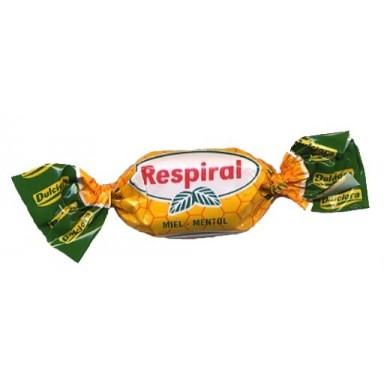 Caramelos Respiral Miel Mentol 1 kg.