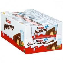 Kinder Bueno Ferrero box of 30 units.