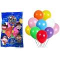 Globos surtidos de colores para fiestas y celebraciones 100u.