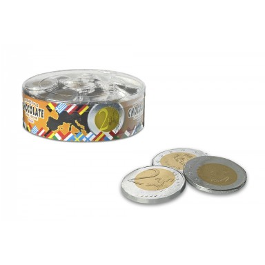 Monedas de chocolate interdulces 40 mm 185 unidades.