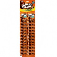 Conguitos choco-peanuts 24 packages of 20 grs.