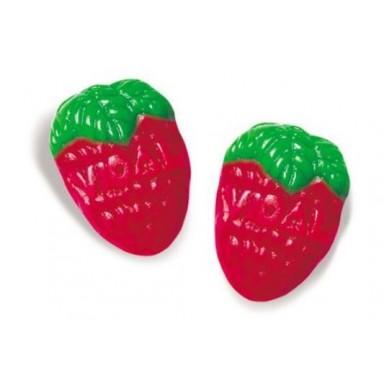 Bote caramelos de goma Fresas Silvestres vidal 250u.
