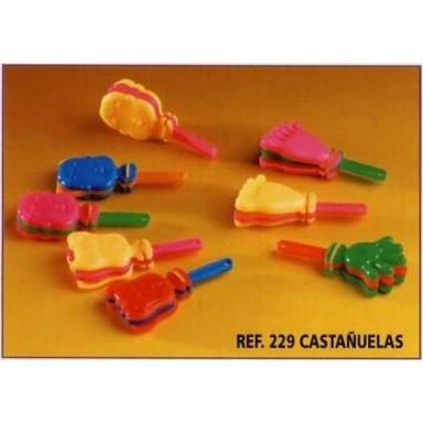 Baratijas Castañuelas surtidas Clappers 24u.