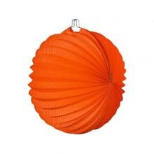 Farolillo colgante decoración para fiestas naranja.