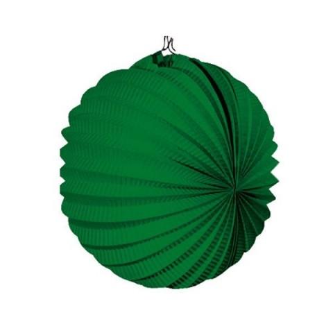 Farolillo colgante decoración para fiestas verde.