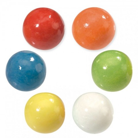 Vidal chewing gum balls 28 mm 2 kg.