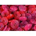 Discos rojos regaliz Haribo 2Kg.