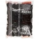 Discos negros regaliz Haribo 2Kg.