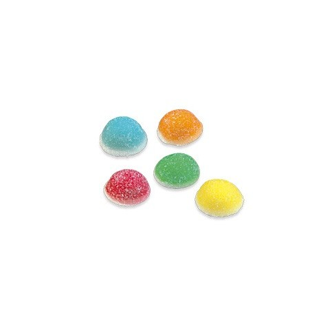 Caramelos de goma Fini Mini Besos surtidos de colores 1 kg.
