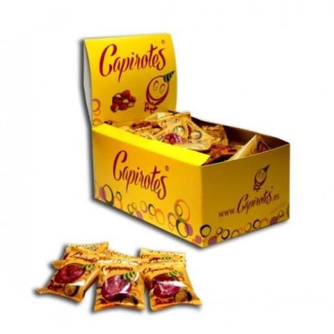 Capirotes cacahuetes garrapiñados 100 bolsitas de 8 grs.