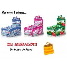 Lote Happydent menta, fresa y sandía+Toalla de regalo!!!