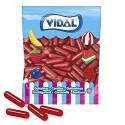 Bote caramelos de goma Pintalabios chicle rojos vidal 250u.