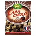 Carachoco Lutti caramelo de toffee cubierto de chocolate negro.