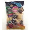 Caramelos de goma gigantes Botellas cola brillo Roypas bolsa 1 kg.
