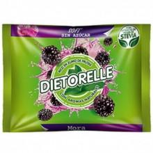 Caramelos Dietorelle Soft sabor mora 800gr.