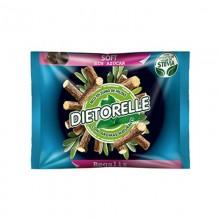 Caramelos Dietorelle Soft sabor regaliz 800gr.