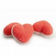 Caramelos de goma Damel Corazón Doble Azúcar bolsa 250u. aprox.