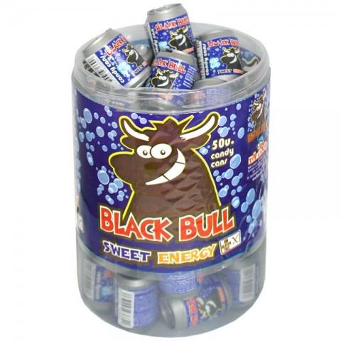Black bull bote con caramelos sabor bebida energetica 50u.