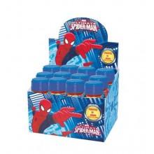 Pompas jabón Spiderman 12 unidades.