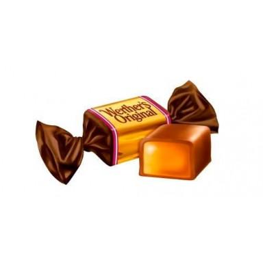 Caramelos Werther's Toffees blandos cubiertos de chocolate con leche bolsa de 1Kg.