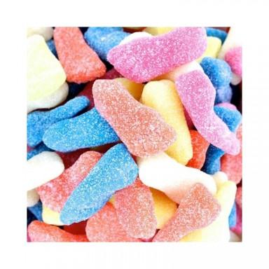 Bote caramelos de goma Pies ácidos vidal 250u.