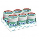 Chicles Orbit box eucalipto 6 botes con 70 grageas.