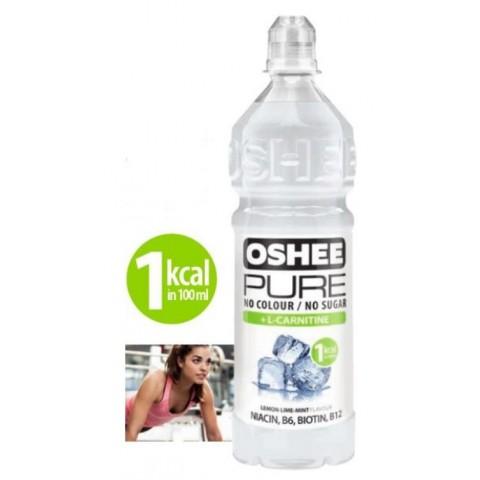 Bebida OSHEE Isotónica Pure L-Carnitina 750 ml. 6u.