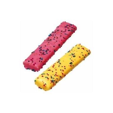 Mega crujientes Fini esponja cubierta de colores 75u.