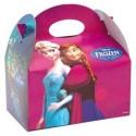Cajita Cartón para celebraciones Frozen 1u.