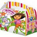 Cajita Cartón para celebraciones Dora la Exploradora 1u.