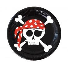 Platos Piratas 8u.