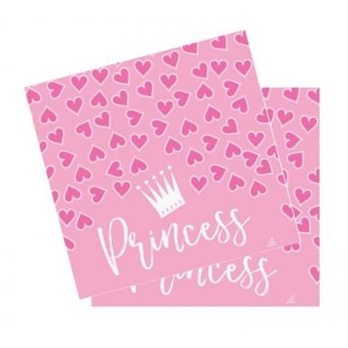 Servilletas Princesas 20u.