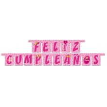 Guirnalda Feliz Cumpleaños Princesas