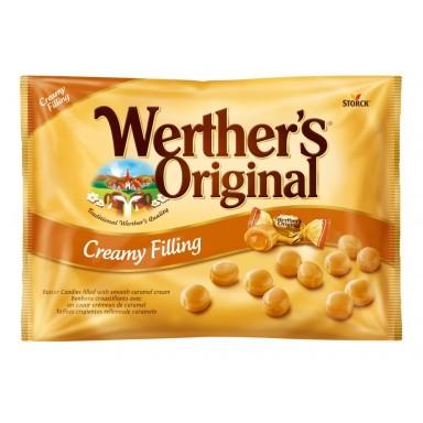 Caramelos Werther's Toffees crujientes rellenos de caramelo bolsa de 1Kg.