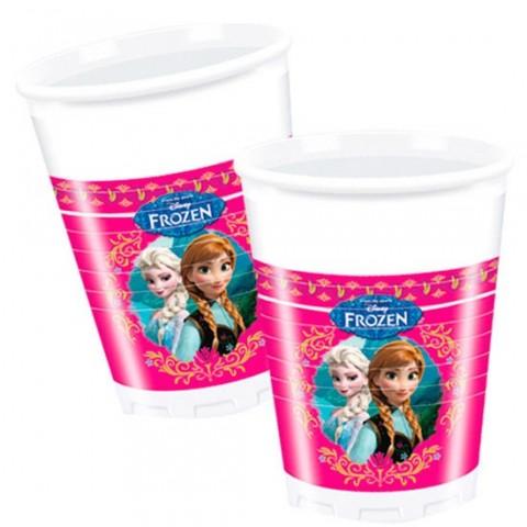 Vasos Frozen 8u.