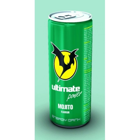 Bebida Energética Ultimate Power Mojito 250 ml. 24u.