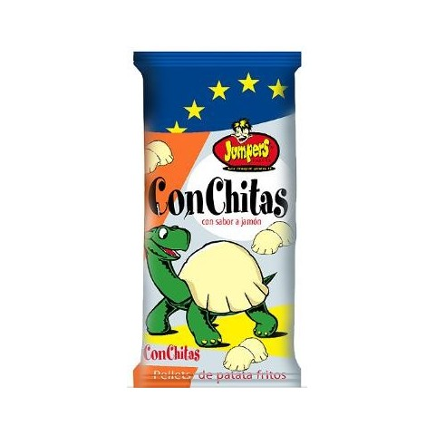 Conchitas de Jumpers sabor jamon 40 unidades.