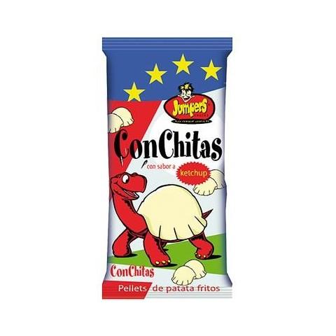 Conchitas de Jumpers sabor ketchup 40 unidades.
