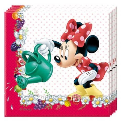 Servilletas Minnie Lunares 20u.
