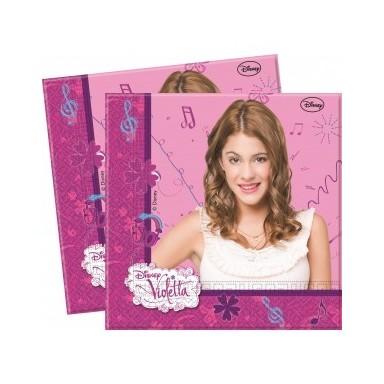 Servilletas Violetta 20u.