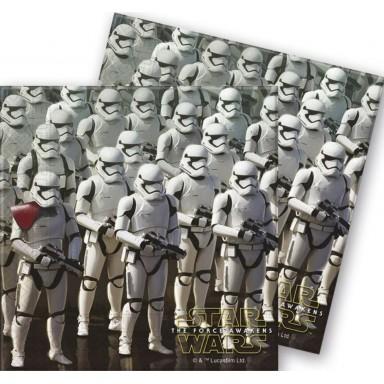 Servilletas Star Wars 20u.